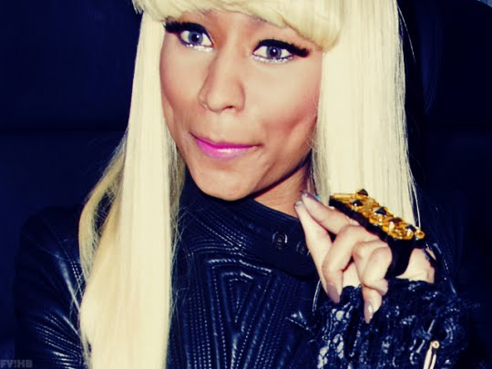 Nicki Minaj Fat Coochie. nicki minaj green blue hair.