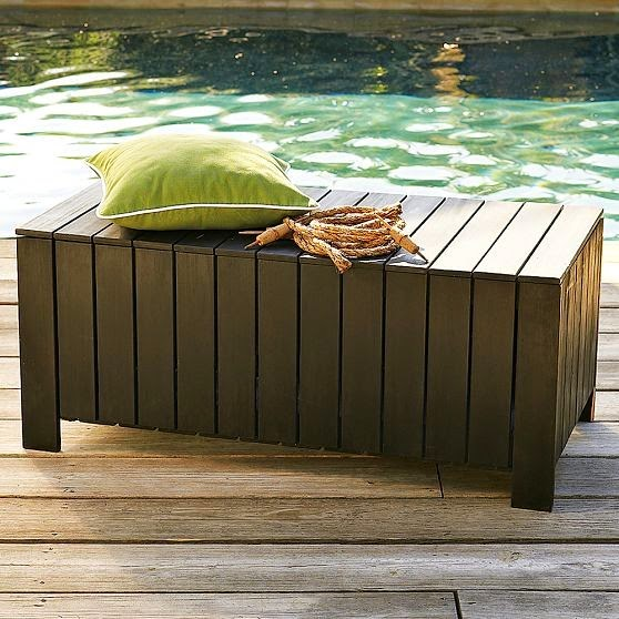 modern outdoor stools and benches design ideas