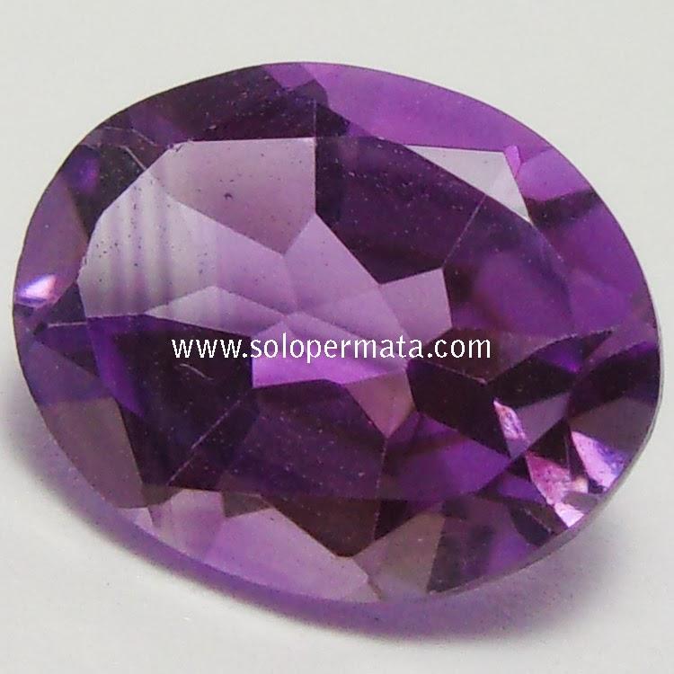 Batu Permata Purple Amethyst - 02B11