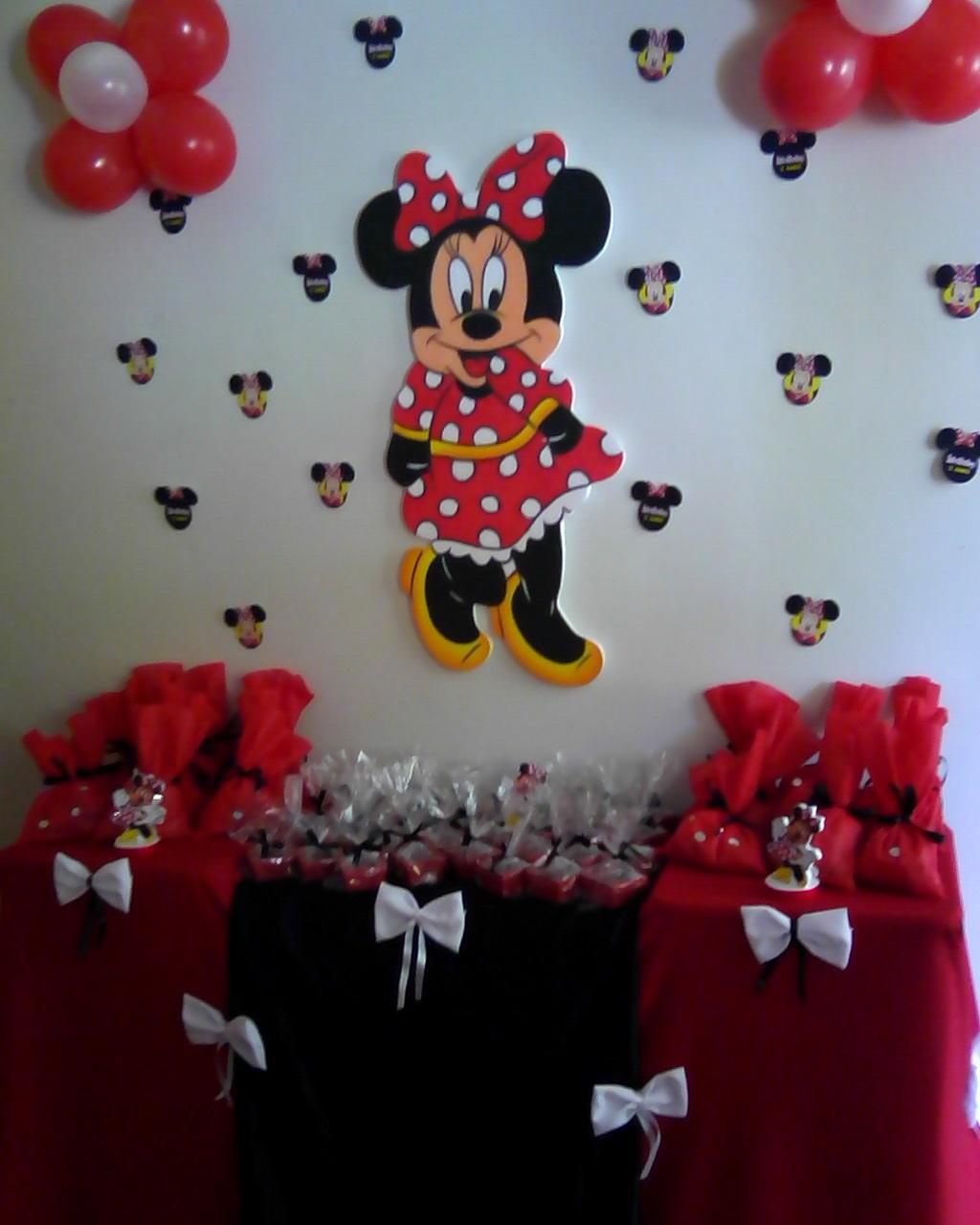 Decoração Simples da Minnie  Sonho dos Balões!