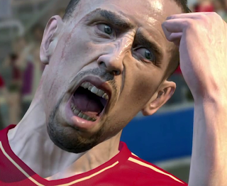 Ribery in Pro Evolution Soccer 2014