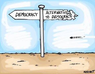 PhD in Democracy - May I ask you to Please Stand Up?