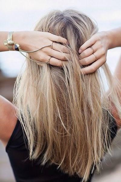 blond stijl haar