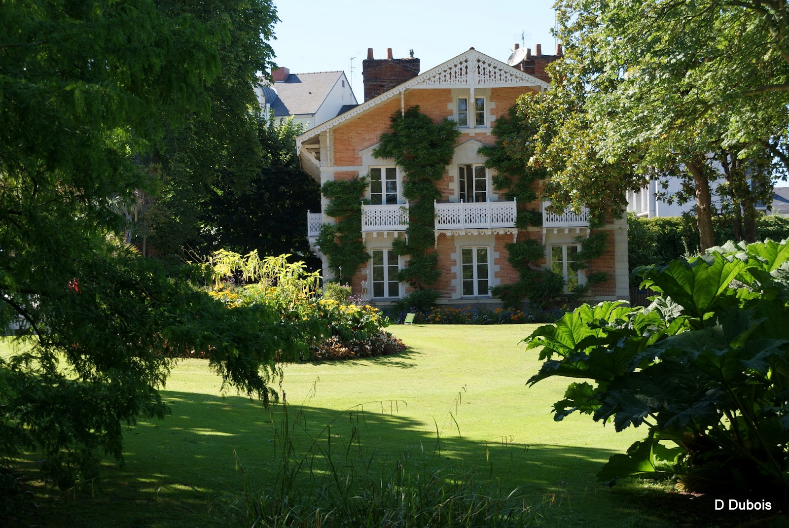 Pavillon jardin des plantes de nantes for Jardin nantes
