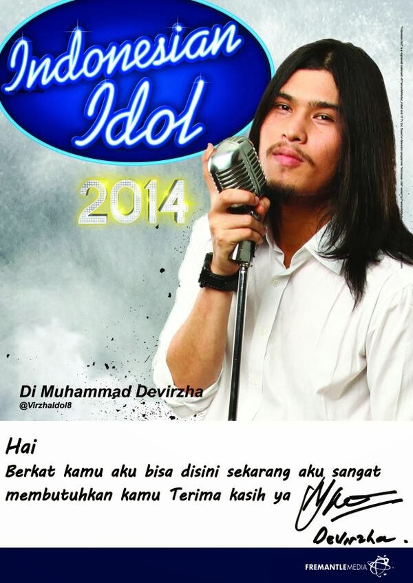 Virzha Indonesian Idol 2014