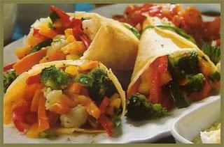 y Cocinar Crepes con verduras