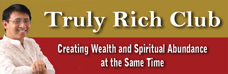 Be truly rich