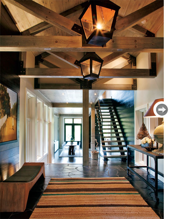Rustic Entry Foyer : Refresheddesigns the new modern rustic part