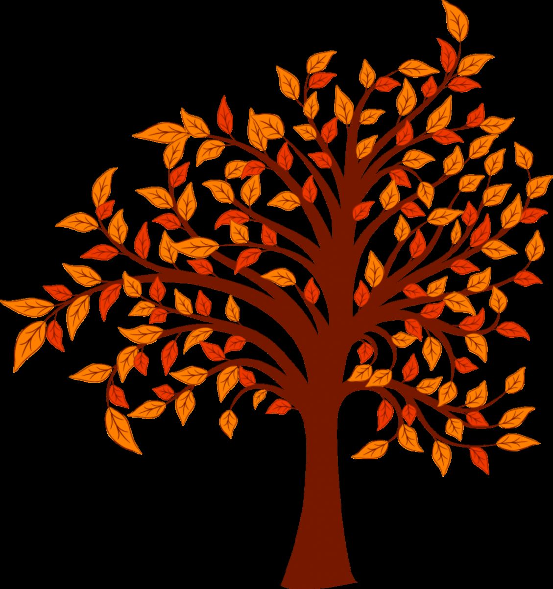 Autumn Tree Clipart Free