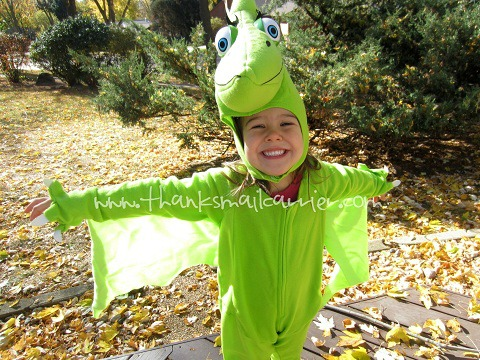 Halloween Dinosaur Train costume