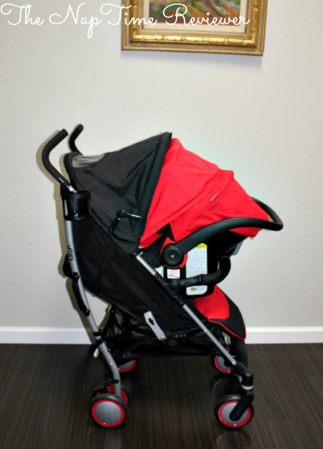 The Urbini Touri Travel System Makes It Incredibly Easy To Bring Baby Along For Ride Stroller Has A Reclining Seat Removable Cup Holder