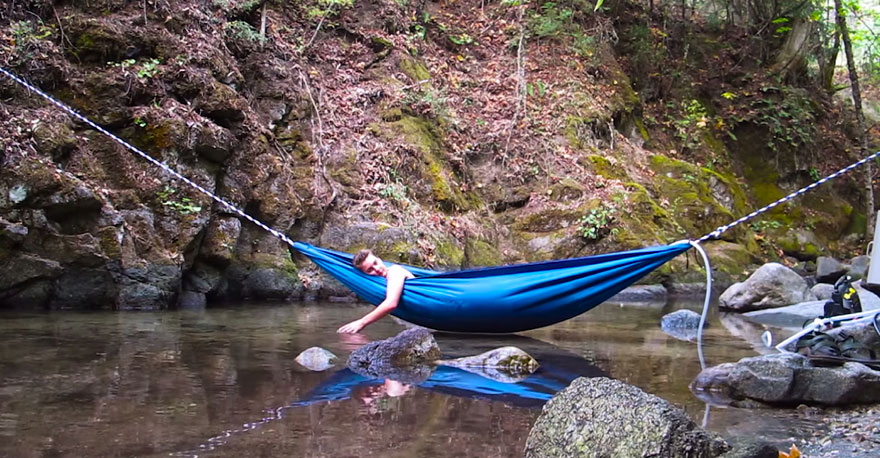 This Hot Tub Hammock Just Might Be The Most Relaxing Thing