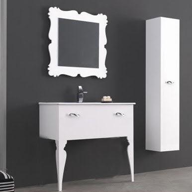 mueble baño pata barroca
