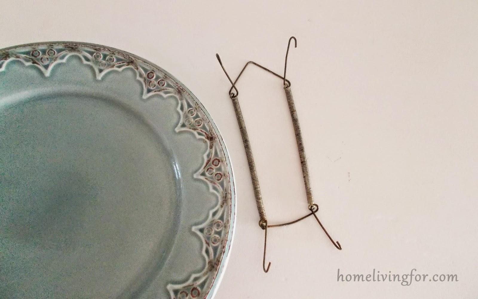 Home living for: Como colocar pratos na parede #61493C 1600x1002