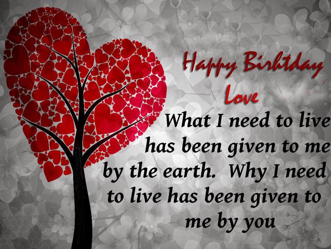 Birthday Love Quotes, part 2