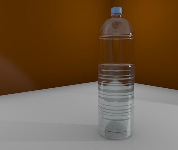 Hanz-Blender: Material Botol Plastik Transparan + Airnya
