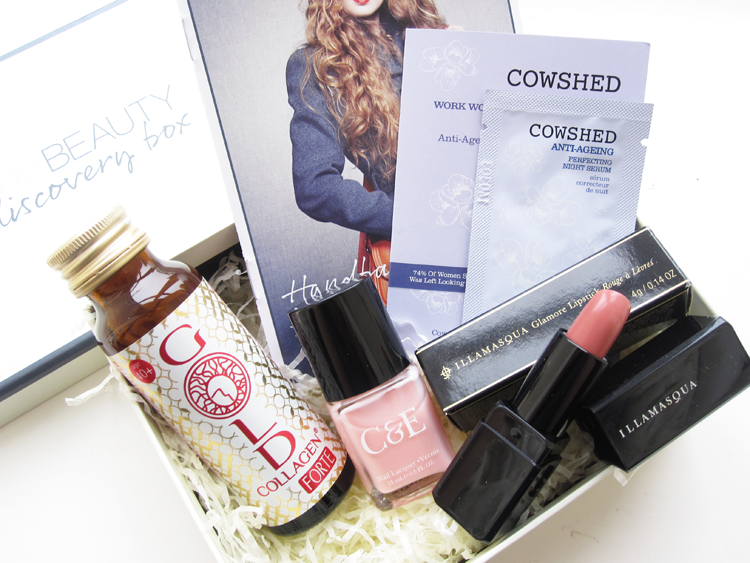 A picture of You Beauty Discovery Box October 2014 review