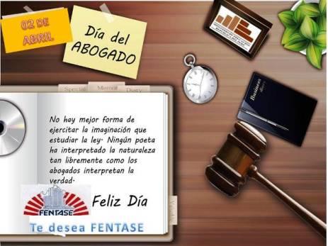 FELIZ DÍA DEL ABOGADO/A