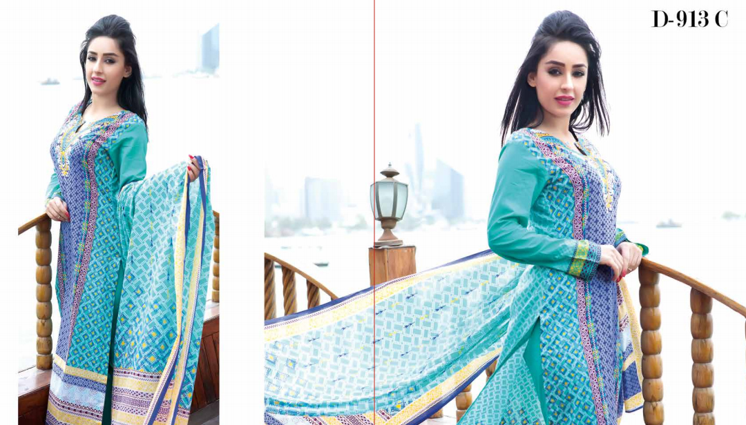 Five Star Classic Lawn Collection 2015
