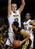Colton Iverson of Minnesota