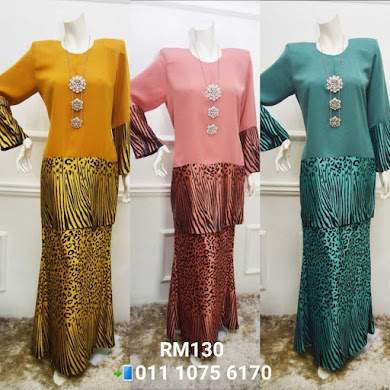 BAJU KURUNG LOLA SWEET HONEY