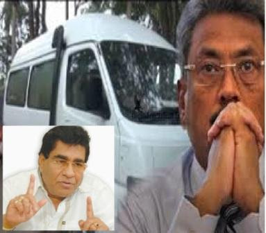 Mervin Reveals White Van of gota Gossip Lanka hot News
