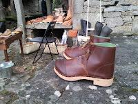 botas, artesanía, enredandonogaraxe.com