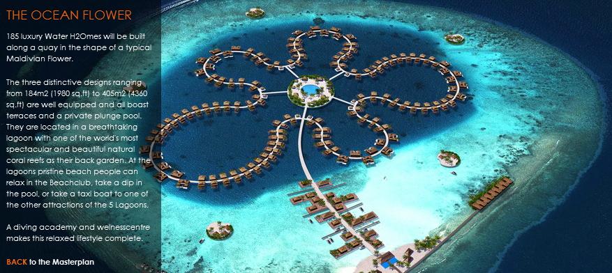 Las maldivas flotando en el futuro for Hoteles en el agua maldivas