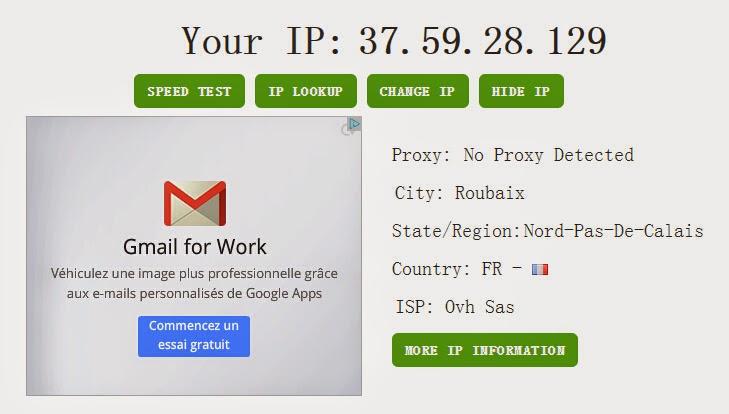 L'adresse IP français
