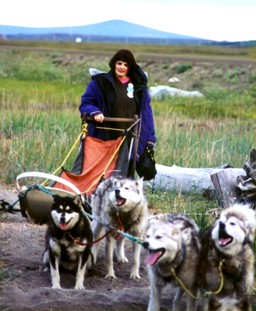 Susan Butcher sled dog musher