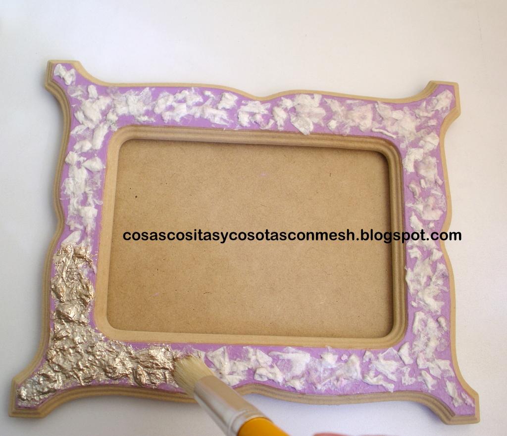 Como decorar un portaretrato de madera cositasconmesh - Cosas de madera para decorar ...