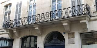 Balcon du 374 rue Saint-Honoré