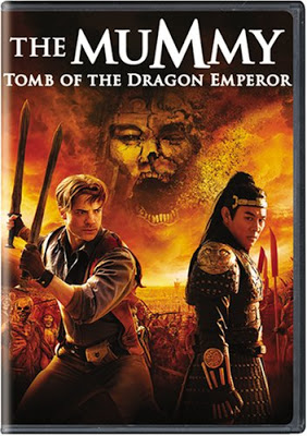 Poster of The Mummy 3 Tomb of the Dragon Emperor 2008 720p BRRip Dual Audio