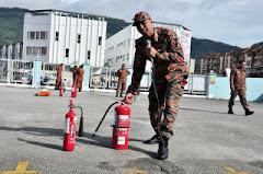 Kawad Kebakaran Dan Demo Memadam Api