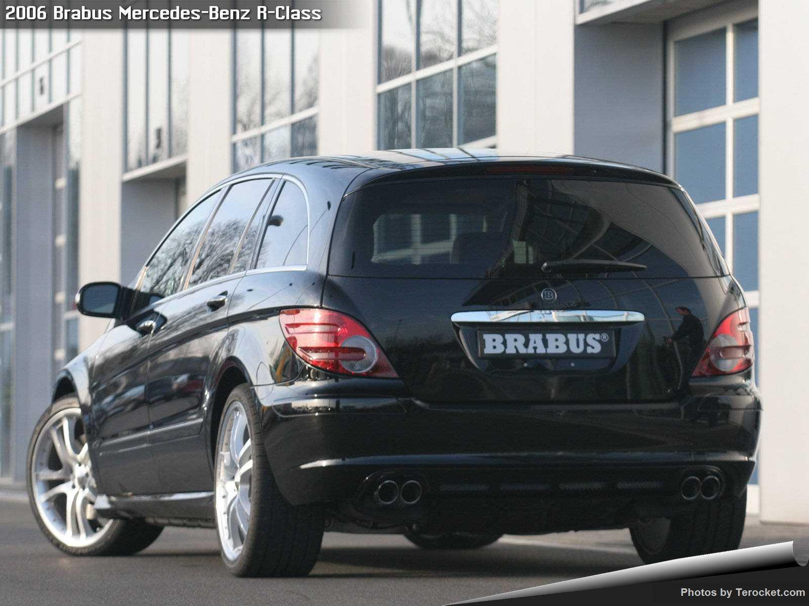 Hình ảnh xe ô tô Brabus Mercedes-Benz R-Class 2006 & nội ngoại thất