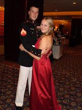 Marine Corps Birthday Ball Dress