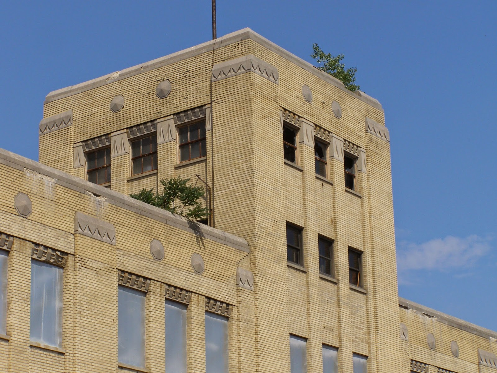 My Central New York: Deco Delights: Sears Building Awaits a Better ...