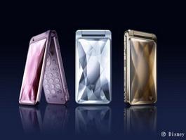 Disney Mobile Sharp DM002SH - Cinderella Phone