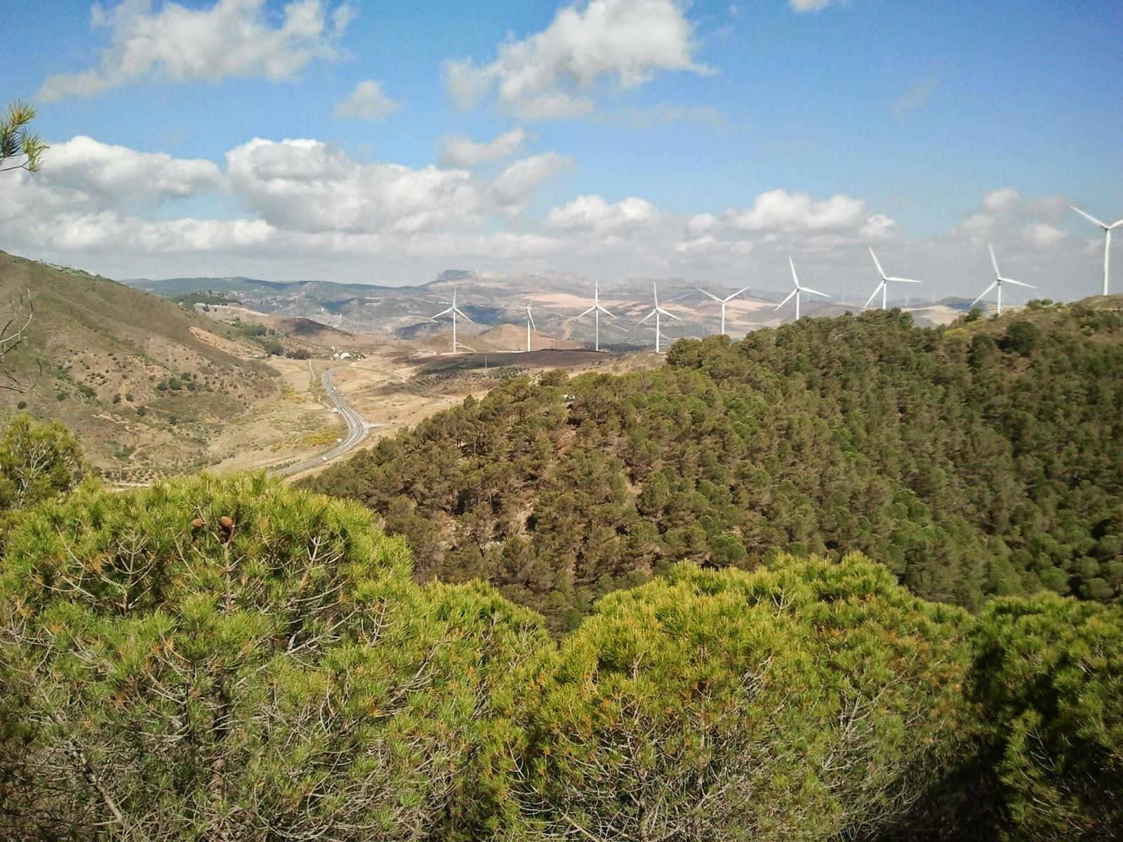 Ecoturismo m laga senderismo en carratraca sierra de aguas - Banos de carratraca ...