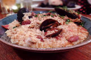 seafood risotto image