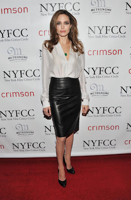 Angelina Jolie Pencil Skirt