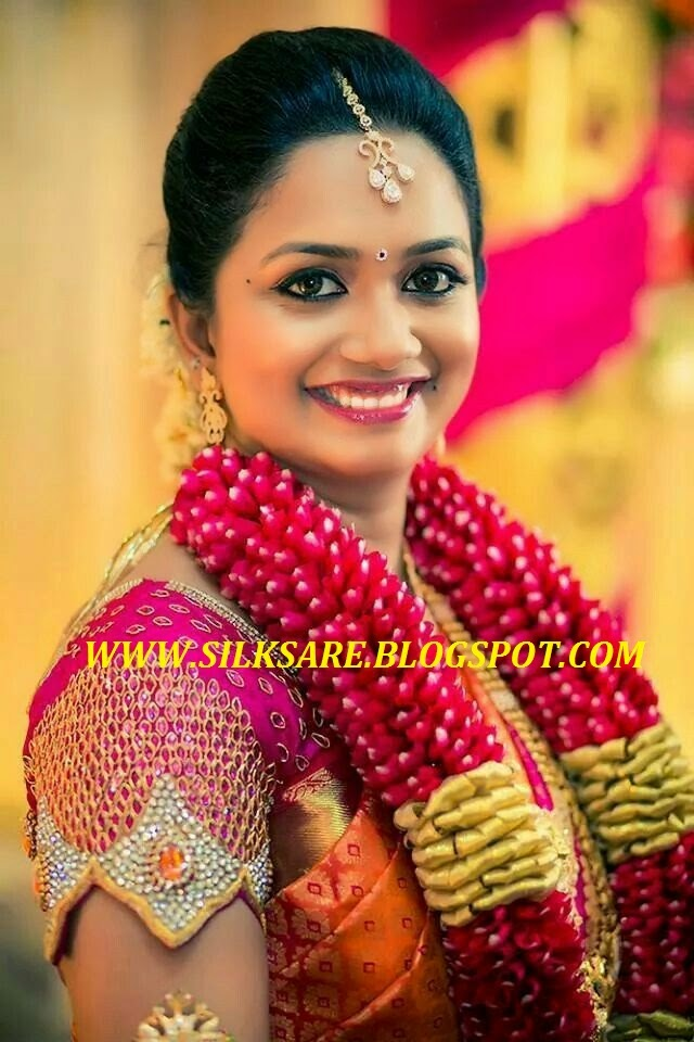 South Indian Wedding Blouse Patterns 63