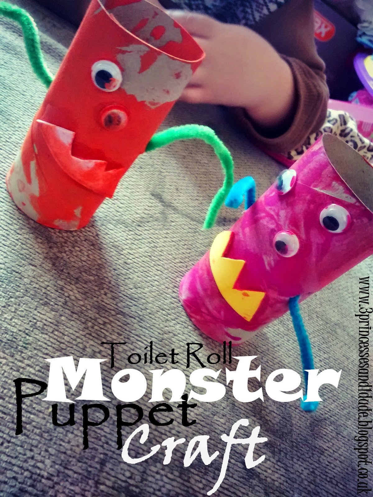 http://3princessesand1dude.blogspot.co.uk/2014/03/monster-puppets.html