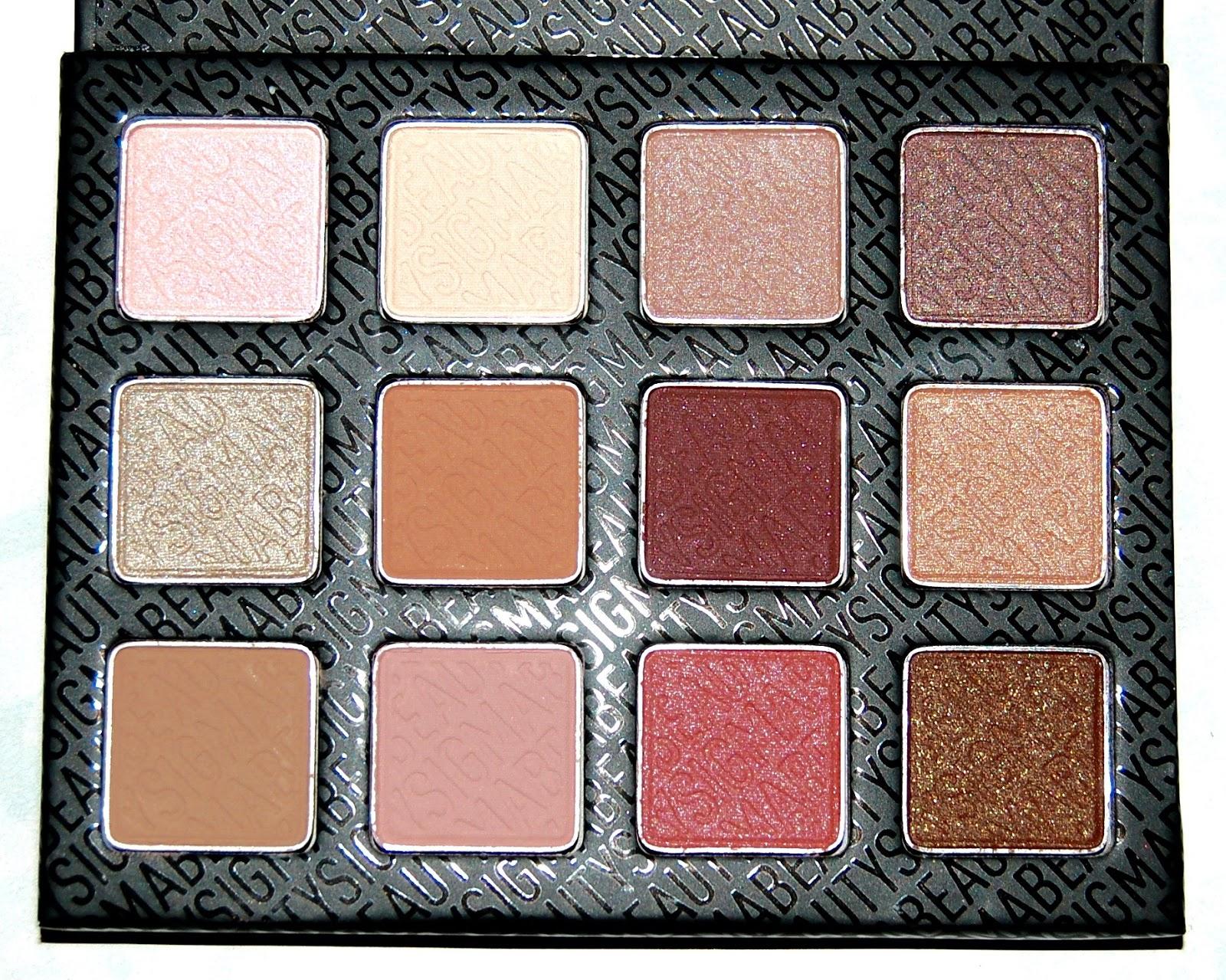 Sigma Warm Neutrals Eye Shadow Palette Review The