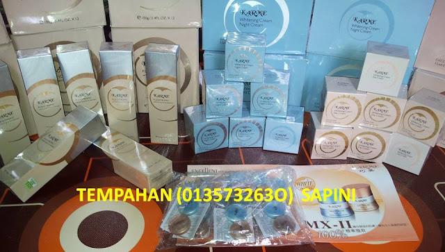 KARME Day Cream-15g (RM80.00) KARME Night Cream-15g (RM80.00) KARME Whitening Facial Cleanser-100g (RM50.00)