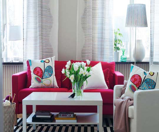 Interior Design Ideas 2013 IKEA living room interior design and decor