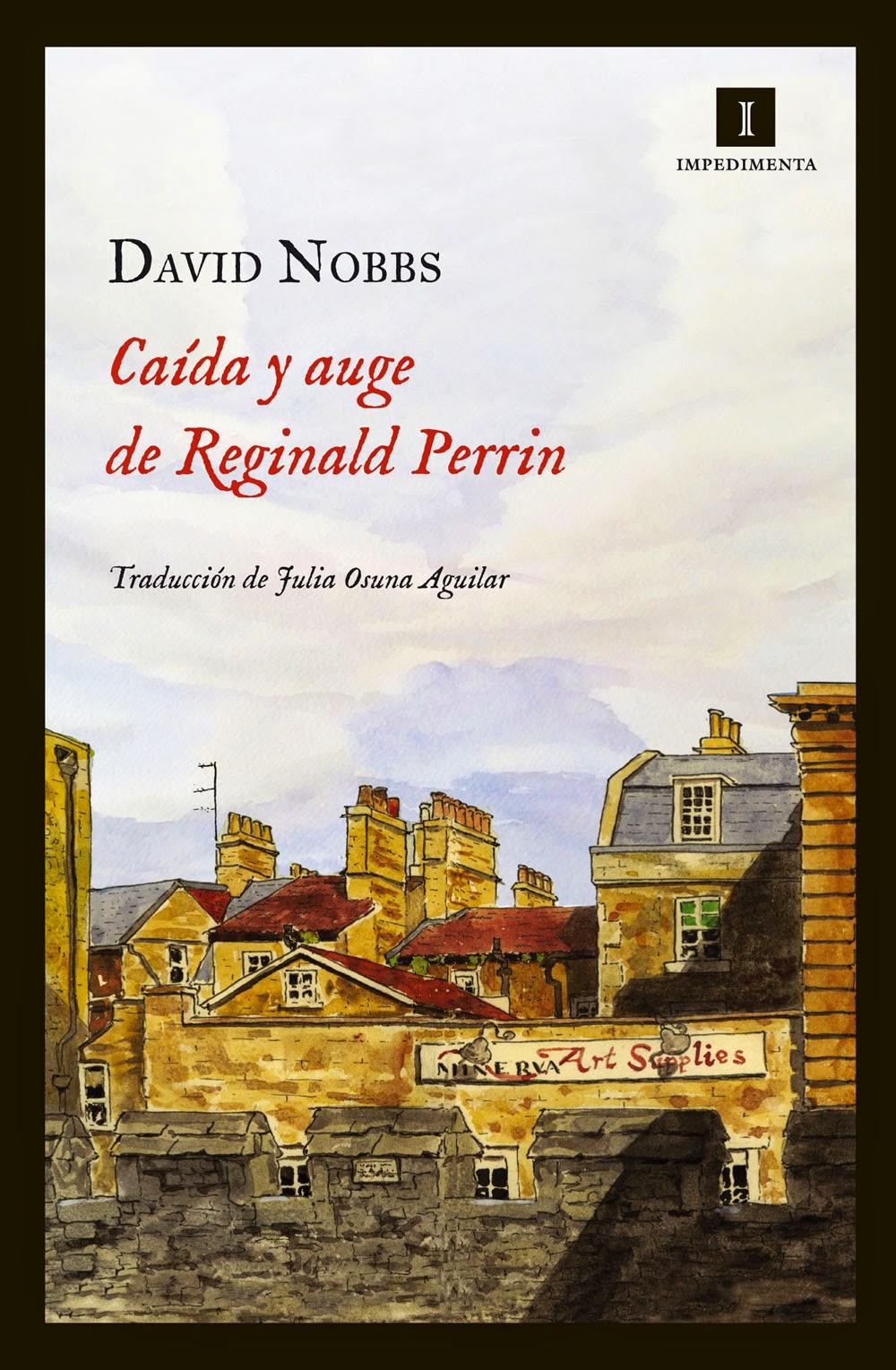 """Coberta del llibre """"Caída y auge de Reginald Perrin"""" de David Nobbs"""