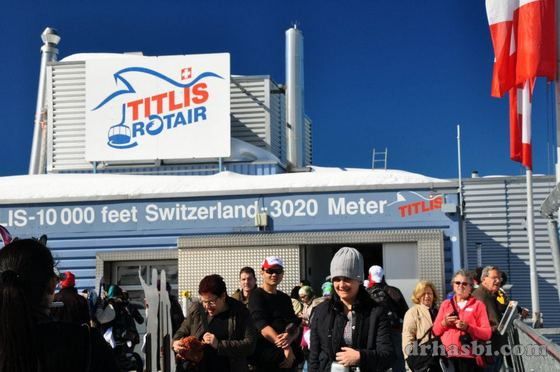 Melancong percuma ke Mount Titlis Switzerland bersama Hai-O Marketing