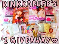  RINKKOPUFF&#39;S GIVEAWAY