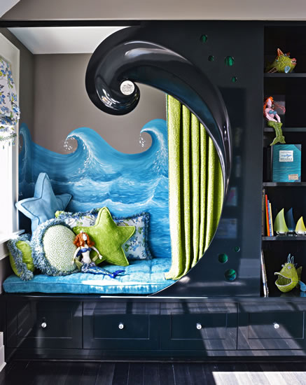 MERMAID BEDROOM DORMITORIOS SIRENITA